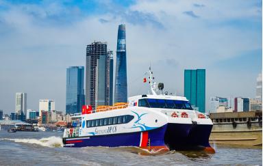 Vé tàu cao tốc Sài Gòn - Vũng Tàu - Cần Giờ - Tàu cao tốc GreenlinesDP