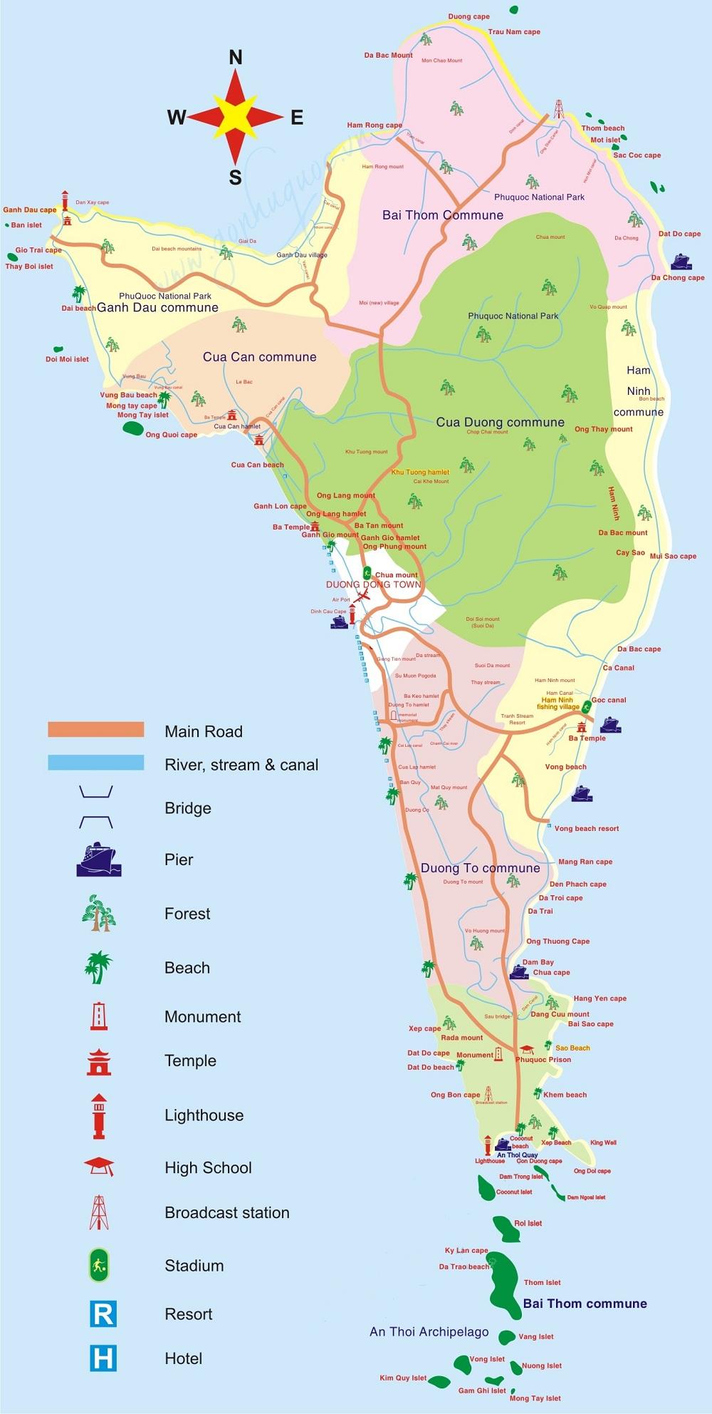 Đảo phú quốc ở đâu