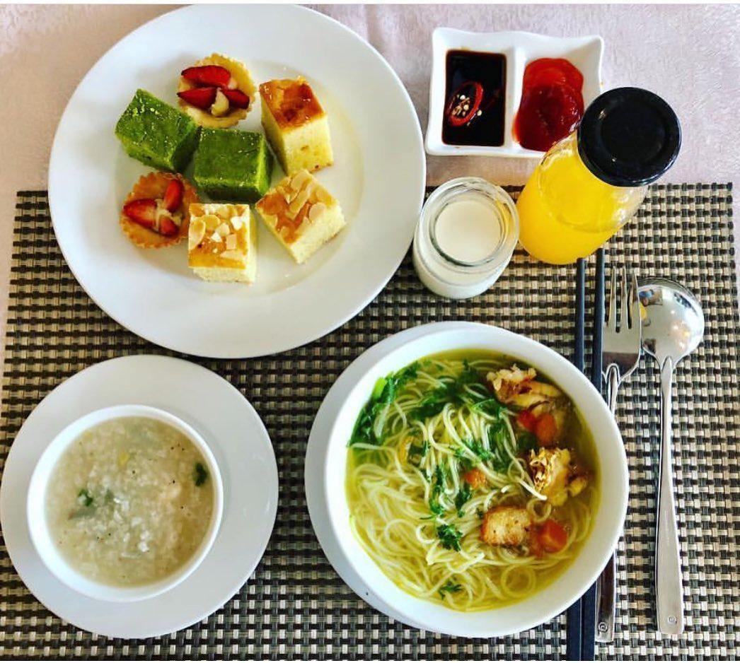 Bữa sáng tại Amarin Resort