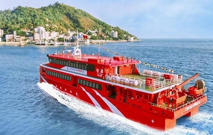 Tàu cao tốc Trần Đề - Côn Đảo