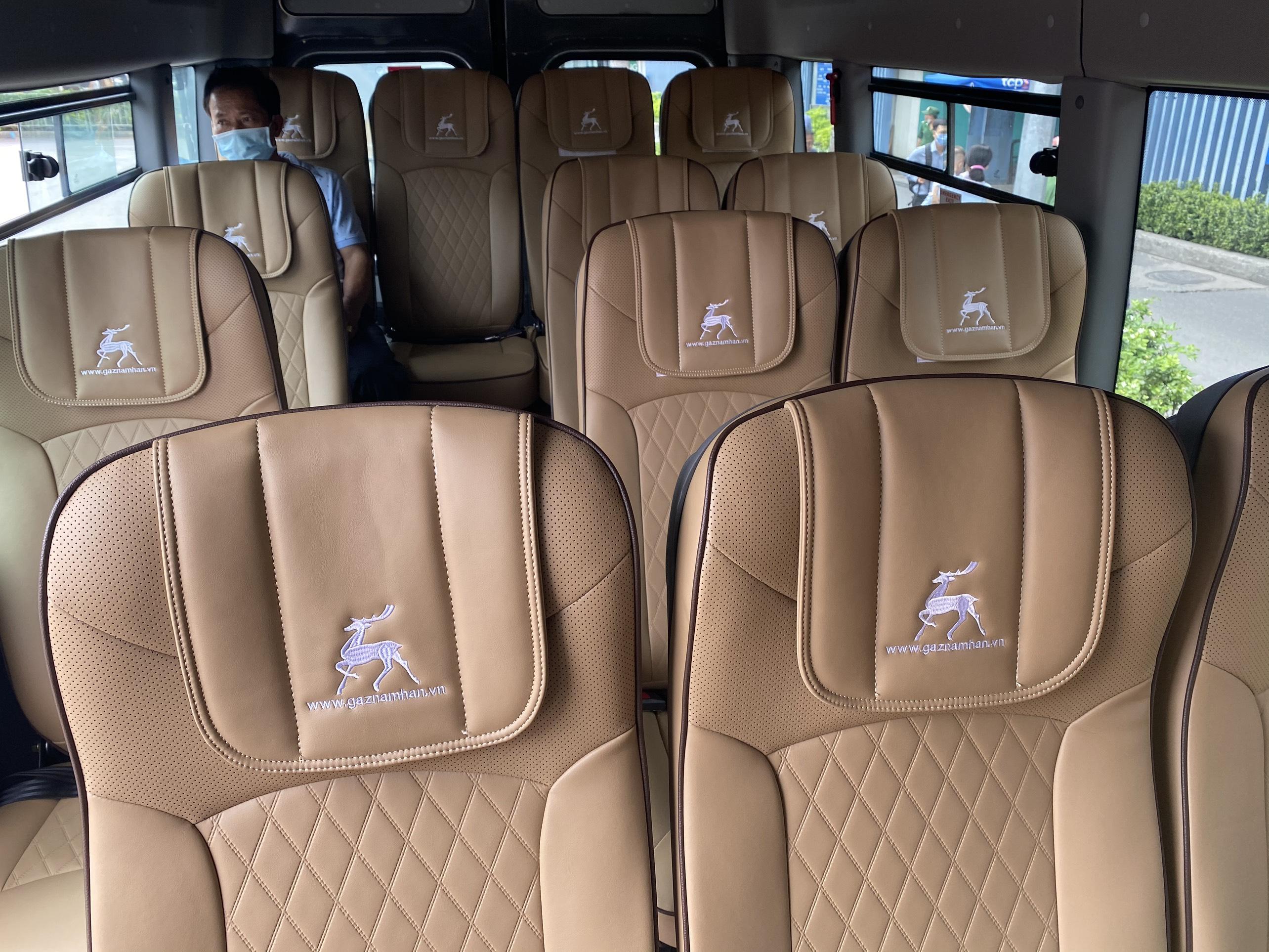 Nội thất xe AVIGO đi Vũng Tàu từ Sài Gòn