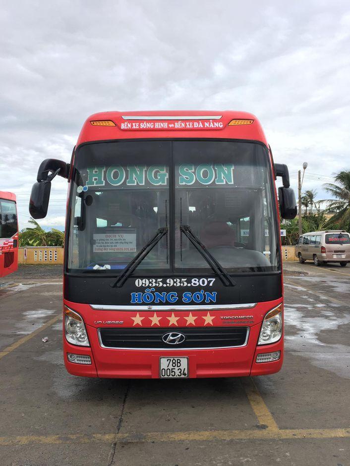 Nội thất xe Hồng Sơn đi Phú Yên