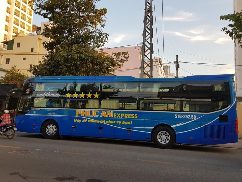 Xe Phúc An Express từ Sài Gòn đi Nha Trang