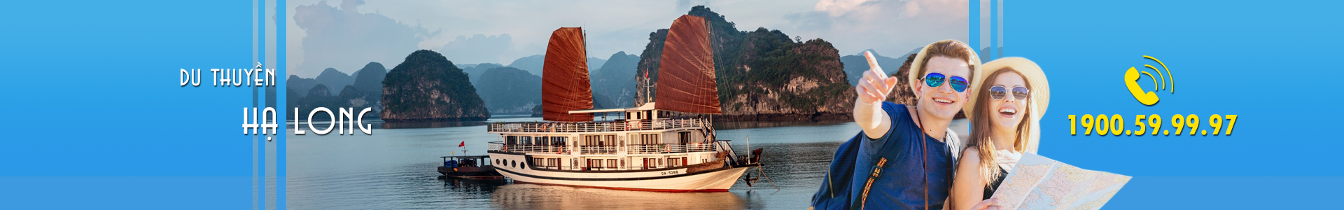Banner du thuyen Ha Long