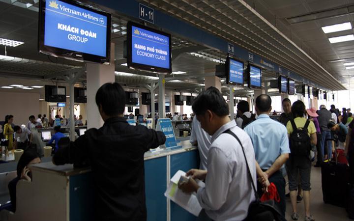 Lưu ý khi checkin tại sân bay