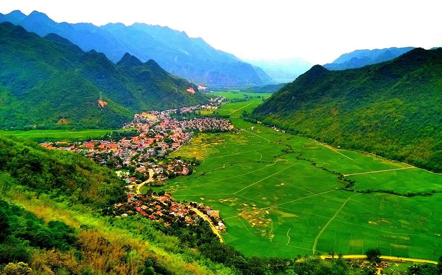 Thung lũng Mai Châu tỉnh Hòa Bình