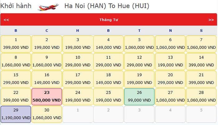 ve-may-bay-Ha-Noi-Hue