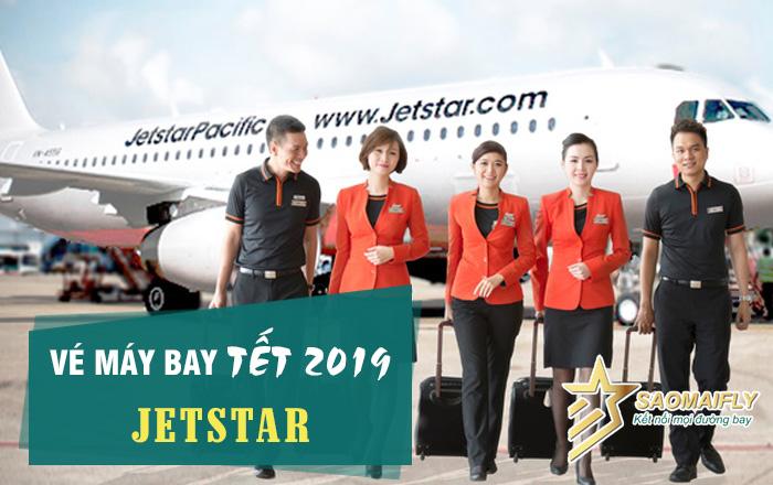 Vé máy bay Tết 2019 Jetstar giá rẻ